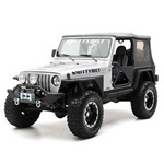 Smittybilt XRC 3in Bolt-on Rear Fender Flares Black 97-06 Wrangler