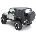 Smittybilt XRC Corner Guards Black 76-86 Jeep CJ