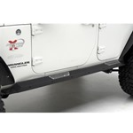 Smittybilt XRC Rock Guards w/ Step 07-12 Wrangler JK 4-Door