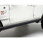 Smittybilt XRC Rock Sliders Black 07-12 Wrangler JK 4-Door