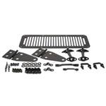 Smittybilt Complete Hood Kit Black 76-95 CJ & Wrangler