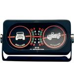 Smittybilt Clinometer with Jeep Graphic