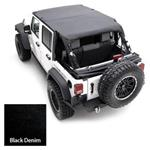 Smittybilt Extended Top Denim Black 92-95 Wrangler