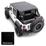 Smittybilt Extended Top Denim Black 97-06 TJ Wrangler & Rubicon