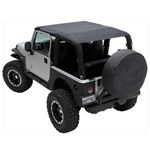 Smittybilt Mesh Extended Top 07-09 Jeep JK 2-Door