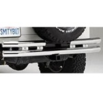 Smittybilt Rear Tube Bumper w/ Hitch SS 07-12 Wrangler JK 2/4-Door