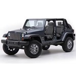 Smittybilt Sure Step 3in Tube Black 97-06 Wrangler TJ