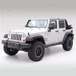 Smittybilt Sure Step 3in Tube Textured Black 07-12 Wrangler JK 4-Door