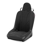 Mastercraft Sportsman Seat w/ Fixed Headrest Black with Black Center & Black Side Panels