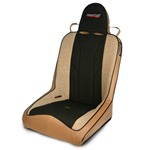 Mastercraft Rubicon Seat w/ Fixed Headrest 76-UP Jeep Tan with Black Center & Brown Side Panels