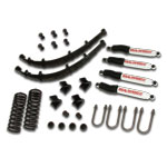 Stock Suspension System w/ WILD HORSES Shocks