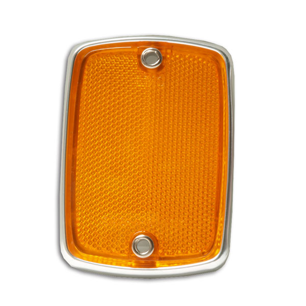 67-69  Grille Reflector Amber