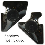 Kick Panel Speaker Pods For 5 1/4 inch Speakers