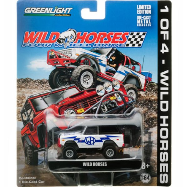 Limited Edition WH NIGHTMARE Bronco Toy From Greenlight Collectibles