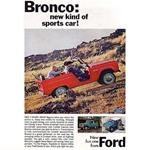 Bronco Sports Car