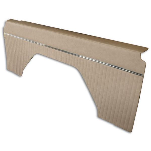 66-76 OEM Style Parchment Vinyl Interior Quarter Panels