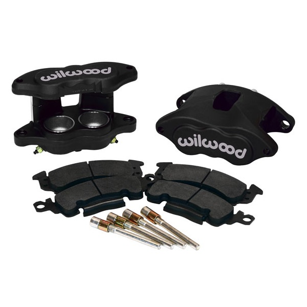 Wilwood Front Disc Brake Calipers Set Black Anodize