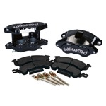 Wilwood Front Disc Brake Calipers Set Black Powder Coated