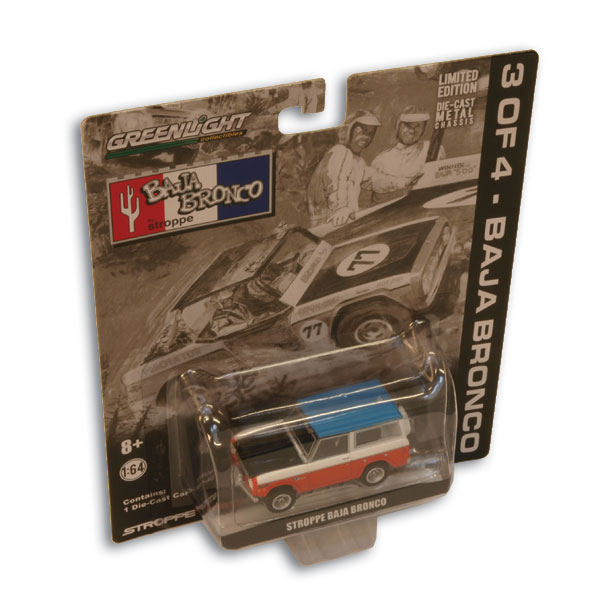 Limited Edition Stroppe Baja Bronco Toy From Greenlight Collectibles