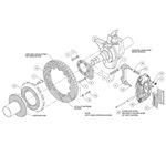 Brake Kit Assembly Schematic