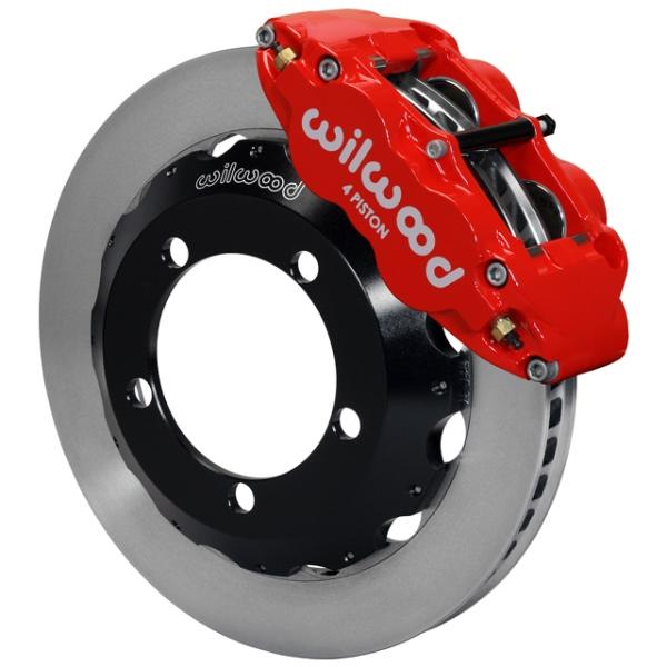Wilwood Superlite 4R Big Brake Front Brake Kit 66-75 Bronco 17in Wheels Red