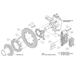 Brake Kit Assembly Schematic
