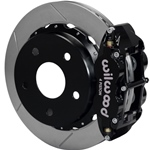 Wilwood Superlite 4R Big Brake Rear Parking Brake Kit 66-75 Small Bearing Bronco 17in Wheels Black