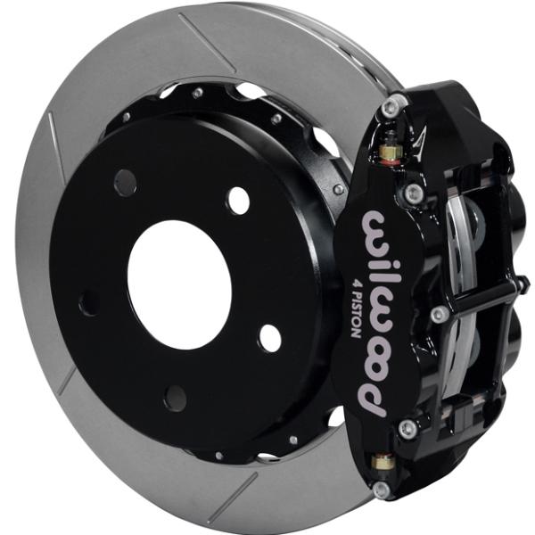 Wilwood Superlite 4R Big Brake Rear Parking Brake Kit 76-77 Bronco 18in Wheels Black