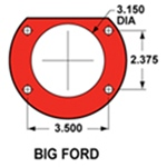 Big Ford Flange