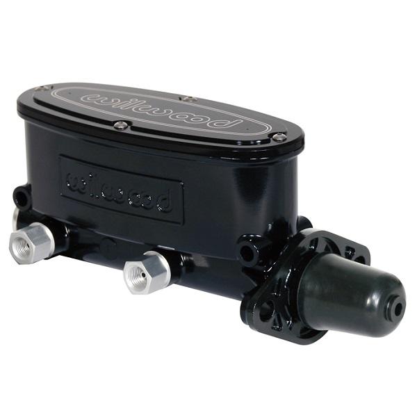 Wilwood Aluminum Tandem Master Cylinder 1 inch bore with black e-coat