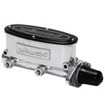 Wilwood Aluminum Tandem Master Cylinder 1 inch bore media burnished