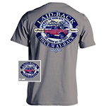 Laid Back Tough Bronco-Men's Chill T-Shirt in Charcoal