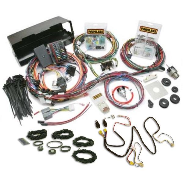 buy painless wiring harness with night lighter headlight harness rh wildhorses4x4 com