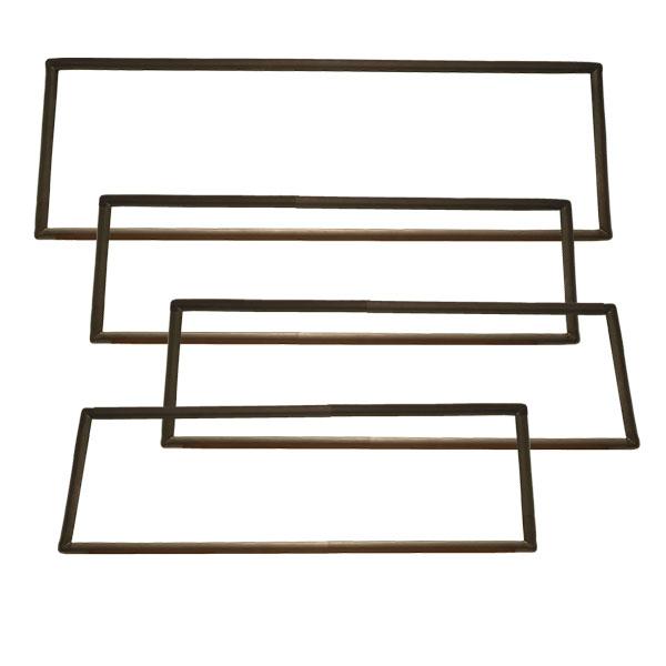 OE Quality Glass Seal Kit - Plain Non-Chrome Type