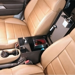 Tuffy 274-01 Security Rear Half Console fits Jeep Wrangler JK 2011+