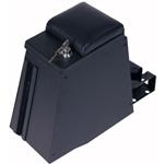 """Tuffy 044-01 TJ Series II Rear Half Security Console 8.5"""" W Black"""