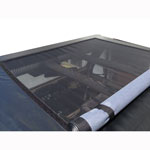 WILD HORSES Roll Bar Sun Roof Top Kit Black