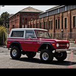 Bushwacker Fender Flares Set of 4 66-77 Bronco