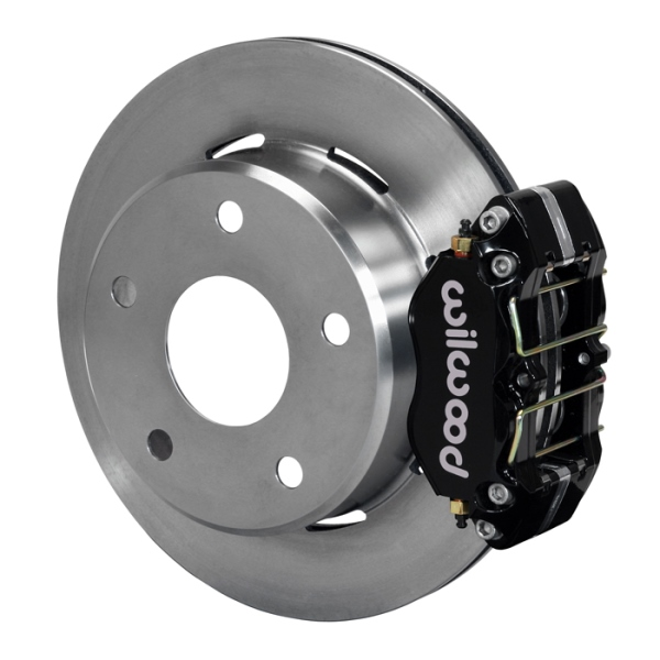 Wilwood Dynapro Lug Mount Rear Parking Brake Kit 74-75 Medium Duty Ford Bronco 15in Wheel Black