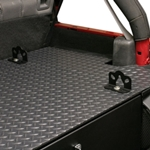 Tuffy 864-01-299 Commercial Grade Diamond Plate Vinyl Mat for #299 Security Deck Enclosure