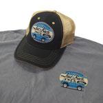 Laid Back Blue Oval Cool Bronco Hat
