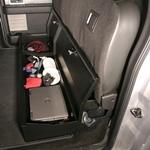 Tuffy 283-01 F-150 Under Rear Seat Lockbox (w/o subwoofer)