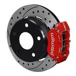 Wilwood Dynapro Lug Mount Rear Parking Brake Kit 66-75 Lg Bear Bronco w/11x1 3/4 drums 15in Wheel Re