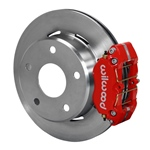 Wilwood Dynapro Lug Mount Rear Parking Brake Kit 66-75 Lg Bear Bronco w/11x1 3/4 drums 15in Wheels R
