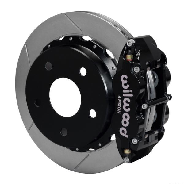 Wilwood Superlite 4R Big Brake Rear Parking Brake Kit 66-75 Lg Bear Bronco w/11x1 3/4 drums 17in Whe