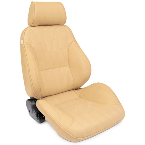 ProCar Rally Seat Beige Canvas w/ Sliders