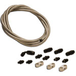 73-77 Bronco C4 Stainless Steel Braided Hose Kit