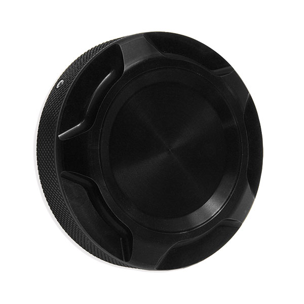 WH Billet Fuel Cap Cover Black Anodized (each) For use with WH non-locking  2.75 OD caps