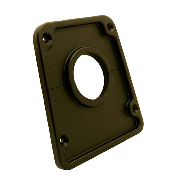 Black Finish Billet 2 inch Column Cover
