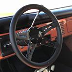 Steering Wheel Mark 9 EL Black 4 Spoke 14 Inch